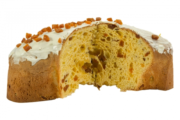 Yogurt and Apricot Colomba